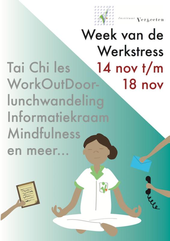Flyer week van de werkstress