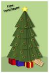 wenskaart voor de feestdagen